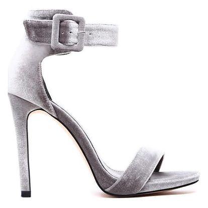 Dámské šedé sandály Carolyn 1135