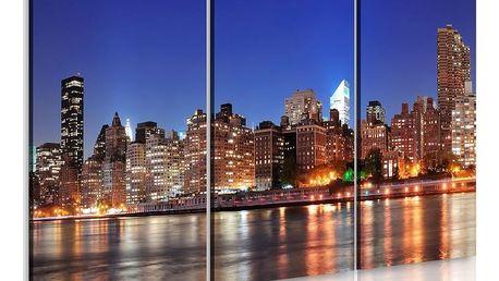 Obraz na plátně - NYC - město tisíce světel 60x40 cm