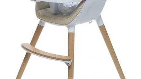 BRITTON Jídelní židlička Fika – béžová