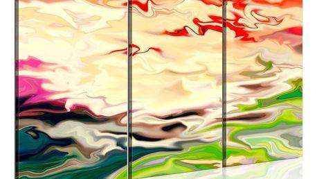 Obraz na plátně - Rainbow reflections 120x80 cm