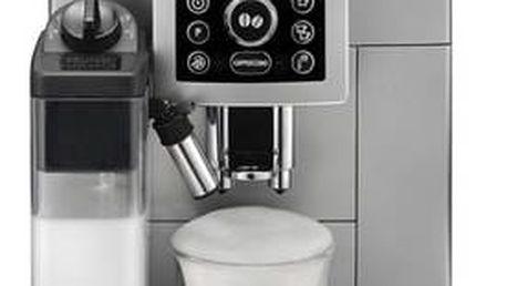 Espresso DeLonghi Intensa ECAM23.460S stříbrné + Doprava zdarma