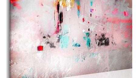 Obraz na plátně - Spontaneity - abstraction 90x60 cm