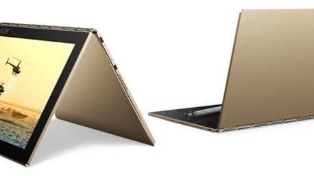 Dotykový tablet Lenovo YOGA Book 10 (ZA0V0040CZ) zlatý Software F-Secure SAFE, 3 zařízení / 6 měsíců v hodnotě 979 Kč + DOPRAVA ZDARMA