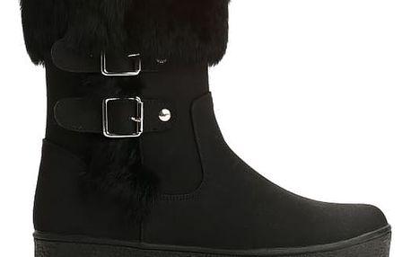 Dámské černé kotníkové boty Fionna 2147
