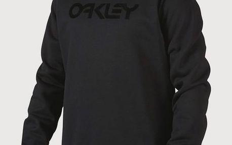 Mikina Oakley Dwr Fp Crew Blackout Černá