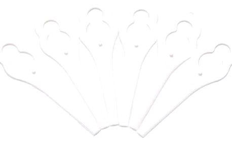Nůž Bosch pro ART 23 accu (24 ks), F016800177 bílé