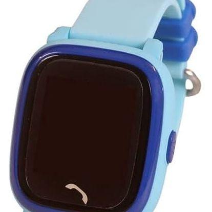Chytré hodinky Helmer LK 704 dětské s GPS lokátorem (Helmer LK 704 B) modrý