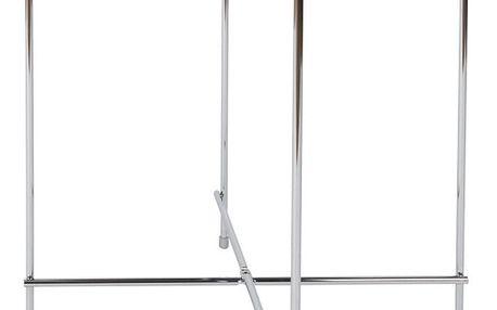 Příruční stolek ve stříbrné barvě Zuiver Cupid - doprava zdarma!