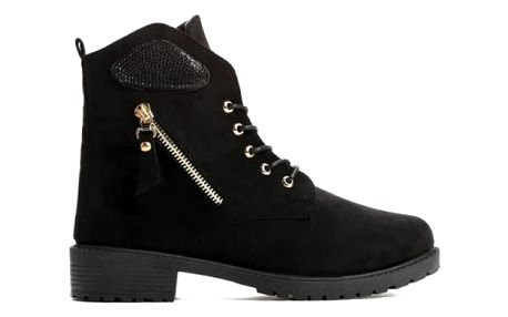 Dámské černé kotníkové boty Khloe 818
