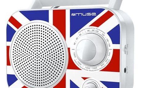 Radiopřijímač MUSE M-060 UK