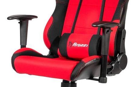 Herní židle Arozzi TORRETTA XL černočervená