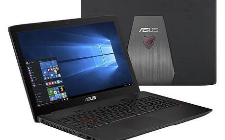 Notebook Asus GL552VX-CN117T (GL552VX-CN117T) černý/plast + DOPRAVA ZDARMA