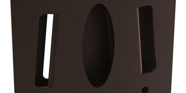 Držák TV GoGEN S pevný, pro úhlopříčky 13'' až 27'', nosnost 30 kg (LCD-203) černý