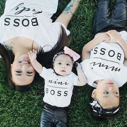 Tričko pro mamku, taťku i dítko