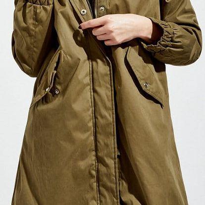 Kabát Moodo Z-KU-2407 olive M