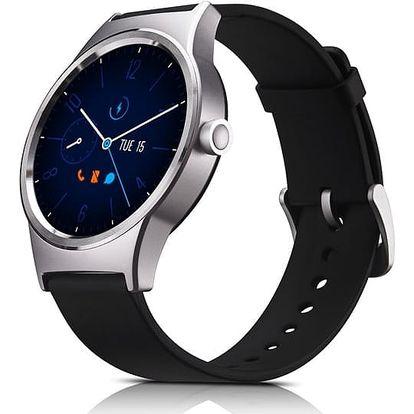 Chytré hodinky TCL MOVETIME (MT10G-2ALCE11) černý/stříbrný + DOPRAVA ZDARMA