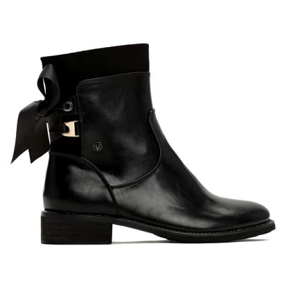 Dámské černé kotníkové boty Saoirse 3118