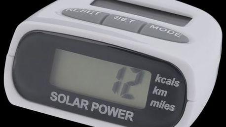 Solární krokoměr pro nadšené sportovce - dodání do 2 dnů