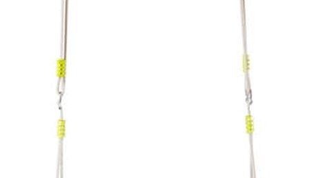 WOODY Skládací houpací kruh - modrý