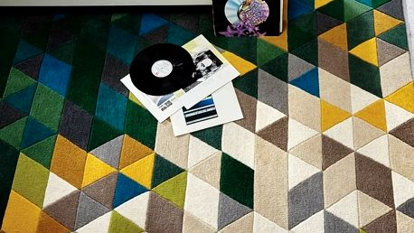 Vlněný koberec Flair Rugs Illusion Prism, 120x170cm - doprava zdarma!