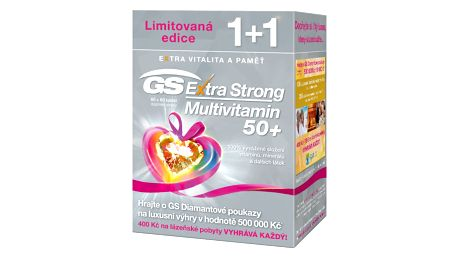 GS Extra Strong Multivitamin 50+ 120 tablet