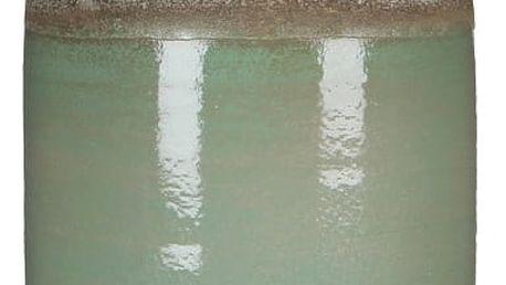 Zelená váza Mica Belinda, 30x16cm
