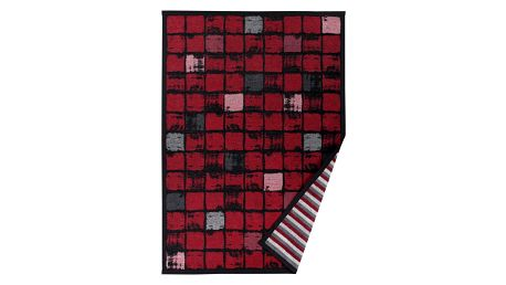 Červený vzorovaný oboustranný koberec Narma Telise, 70x140cm - doprava zdarma!