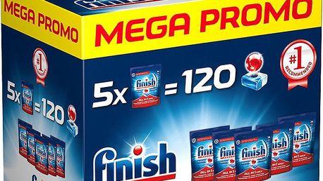 FINISH MEGA BOX Allin1 Max 120 ks - tablety do myčky