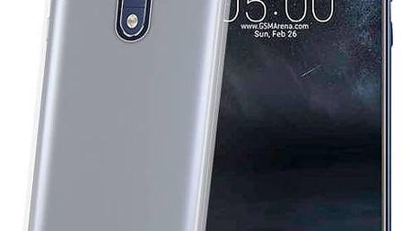 Kryt na mobil Celly Gelskin pro Nokia 5 (GELSKIN661) průhledný