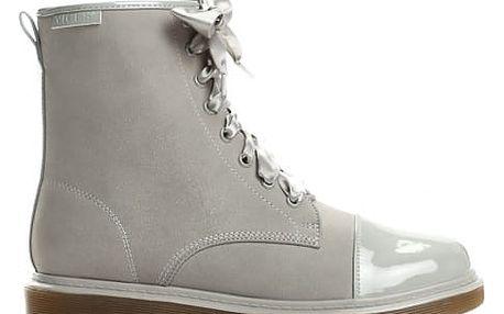 Dámské šedé kotníkové boty Donatella 6151