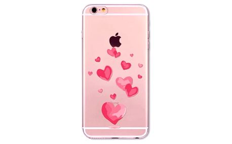 Silikonový obal na iPhone 5, 5S, SE, 6, 6S, 7, 7 Plus