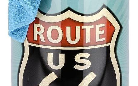Retro koš na špinavé prádlo Wenko Route 66 - doprava zdarma!