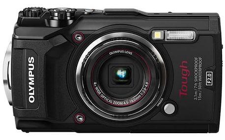Digitální fotoaparát Olympus TG-5 (4545350051099) černý + DOPRAVA ZDARMA
