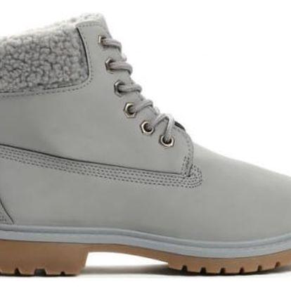 Dámské šedé kotníkové boty Danah 801