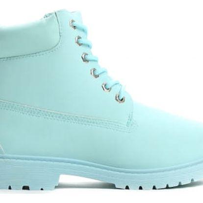 Dámské světle modré kotníkové boty Petty 800