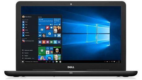 Notebook Dell 15 5000 (5567) (N-5567-N2-711K) černý + DOPRAVA ZDARMA
