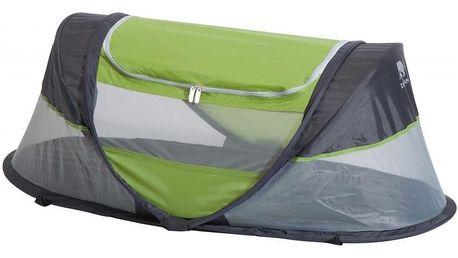 DERYAN Cestovní postýlka Sunny Babybox - zelená