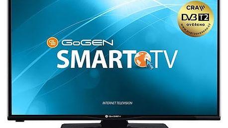 Televize GoGEN TVH 32N360 STWEB černá + DOPRAVA ZDARMA