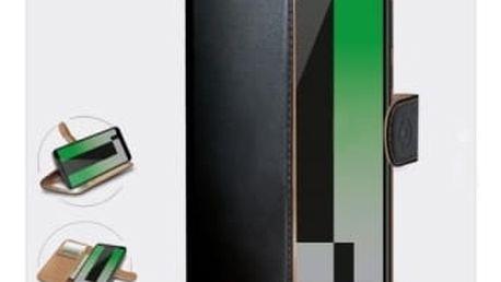 Pouzdro na mobil flipové Celly pro Huawei Mate 10 Lite (WALLY693) černé