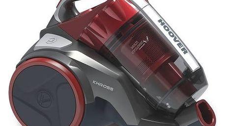 Vysavač podlahový Hoover Khross KS50PET 011 červený + Doprava zdarma