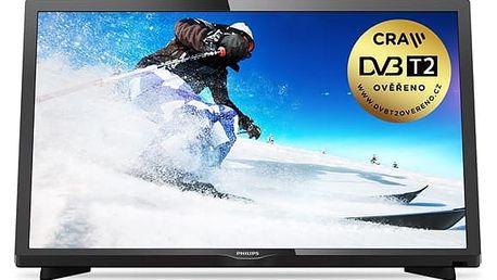 Televize Philips 24PHS4031/12 černá + DOPRAVA ZDARMA