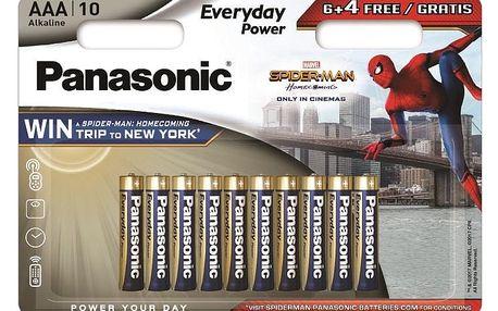 Baterie Panasonic Everyday Power, AAA, 6 + 4 ks
