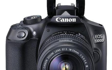 Digitální fotoaparát Canon EOS 1300D 18-55 DC VUK 1160C030
