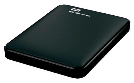 "Externí pevný disk 2,5"" Western Digital 500GB (WDBUZG5000ABK-WESN) černý"