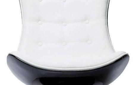 Bílé otočné křeslo Kare Design Atrio - doprava zdarma!