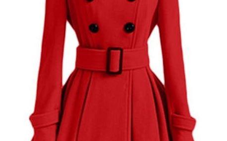 Elegantní zimní kabát - 7 barev
