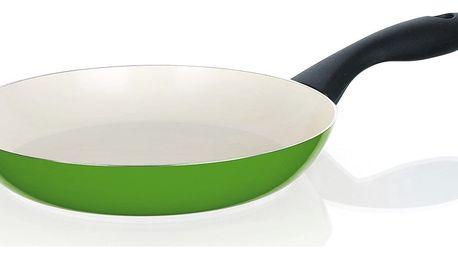 BANQUET Pánev 20 cm zelená se spirálovým dnem Natura Ceramia Verde, 20 cm