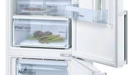 Kombinace chladničky s mrazničkou Bosch KGN39VW35 bílá + Doprava zdarma