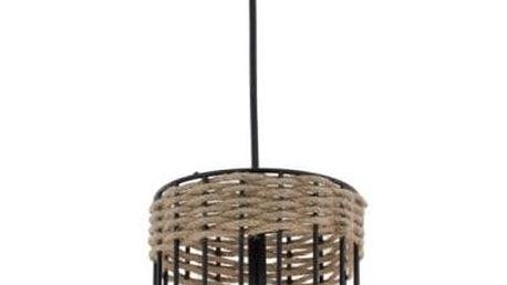 Závěsné svítidlo s jutovou aplikací Avoni Lighting Cage Noire - doprava zdarma!