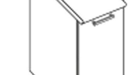 Dolní skříňka D40 pro kuchyňskou sestavu Amanda ořech viva (Amanda 1)